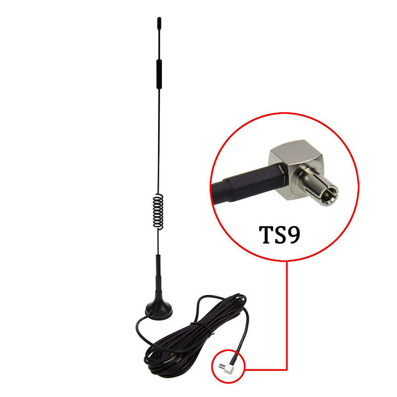 LTE CPRS GSM Omni 4G Antenna 8dbi Black 50 Watt With Magnetic Stand Base