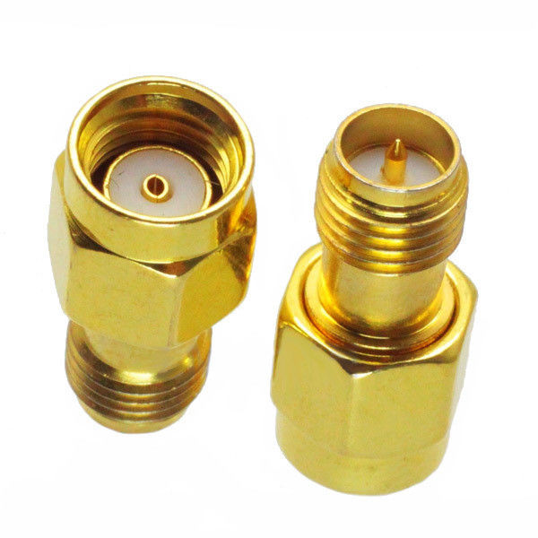 Reverse Polarization RF Cable And Connector RP-SMA Female Coaxial Adapter